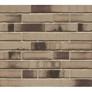 Фасадная клинкерная плитка ручной формовки R980NF14 bacco argo darko, Feldhaus Klinker