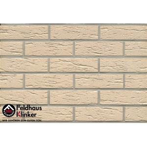 Фасадная клинкерная плитка R116NF9 perla mana, Feldhaus Klinker