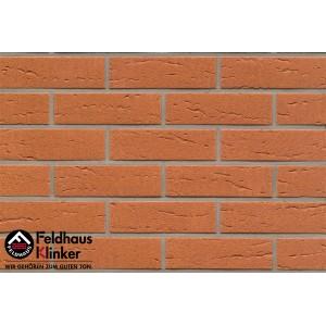 Фасадная клинкерная плитка R227NF9 terracotta rustico, Feldhaus Klinker