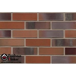 Фасадная клинкерная плитка R560NF14 carbona carmesi colori, Feldhaus Klinker