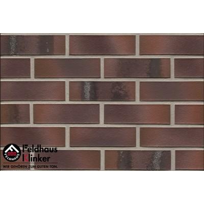 Фасадная клинкерная плитка R561NF14 carbona carmesi maritimo, Feldhaus Klinker