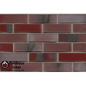 Фасадная клинкерная плитка R563NF14 carbona ardor rutila, Feldhaus Klinker