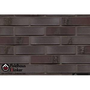 Фасадная клинкерная плитка R565NF14 carbona geo ferrum, Feldhaus Klinker