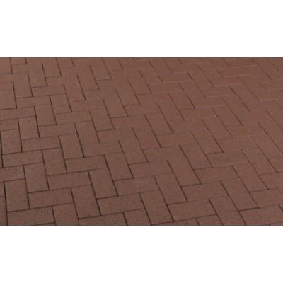 Тротуарный клинкерный кирпич P502DF umbra plano, Feldhaus Klinker