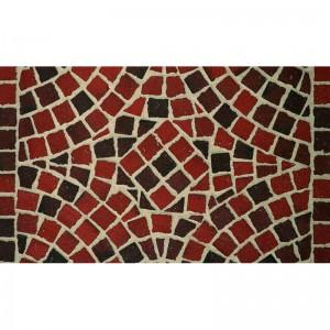 Тротуарная клинкерная мозаика M403DF (делимая на 8 частей 60/60/52) gala flamea, Feldhaus Klinker