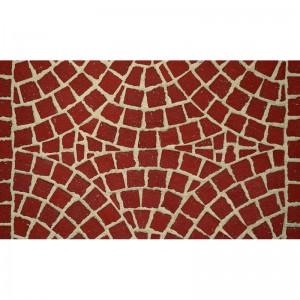 Тротуарная клинкерная мозаика M402DF (делимая на 8 частей 60/60/52) gala plano, Feldhaus Klinker