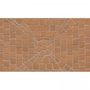Тротуарная клинкерная мозаика M203DF (делимая на 8 частей 60/60/52) areno trigo, Feldhaus Klinker