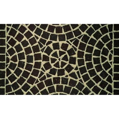 Тротуарная клинкерная мозаика M502DF (делимая на 8 частей 60/60/52) umbra plano, Feldhaus Klinker
