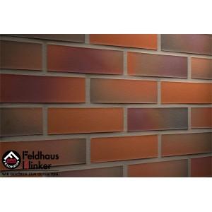 Фасадная клинкерная плитка R489NF galena terreno rosato, Feldhaus Klinker