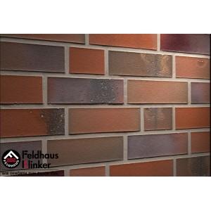 Фасадная клинкерная плитка R580NF14 salina carmesi colori, Feldhaus Klinker
