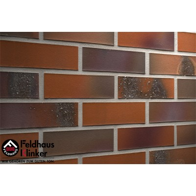 Фасадная клинкерная плитка R582NF14 salina terreno bluastro, Feldhaus Klinker