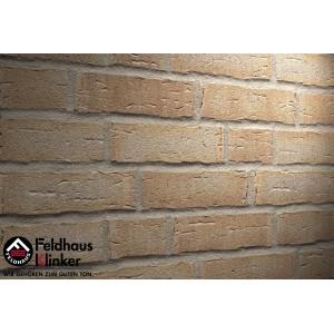 Фасадная клинкерная плитка R681NF14 sintra terracotta bario, Feldhaus Klinker