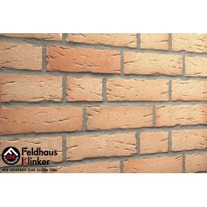 Фасадная клинкерная плитка R696NF14 sintra crema duna, Feldhaus Klinker