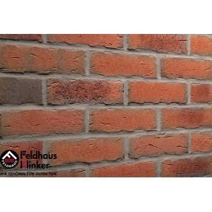 Фасадная клинкерная плитка R698NF14 sintra terracotta bario, Feldhaus Klinker