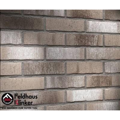 Фасадная клинкерная плитка R771NF14 vascu argo cremato, Feldhaus Klinker