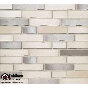 Фасадная клинкерная плитка R911DF70% и K941DF30%  mix vario crema albula, Feldhaus Klinker