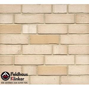 Фасадная клинкерная плитка R911NF14 vario crema albula, Feldhaus Klinker