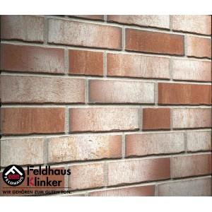 Фасадная клинкерная плитка R921NF14 vario ardor trecolora, Feldhaus Klinker