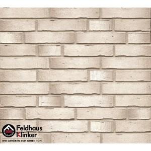 Фасадная клинкерная плитка R940DF14 Premium argo albula, Feldhaus Klinker